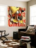 """""""Circus Clown and Poster,"""" July 8, 1944 Poster géant par John Atherton"""