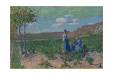 Peasant Women at Monte Cassino, 1886 Giclee Print by John Peter Russell