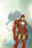 Fallen Son: The Death Of Captain AmericaNo.5 Cover: Captain America and Iron Man Prints by Michael Turner