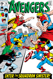 Avengers No.70 Cover: Hyperion Posters by Sal Buscema