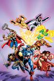 Avengers No.16: Captain America Poster par Jerry Ordway
