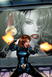 Black Widow No.3 Cover: Black Widow Billeder af Greg Land