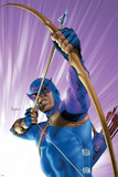 The Pulse No.10 Cover: Hawkeye Prints by Mike Mayhew