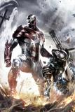 War Machine No.10 Cover: Iron Patriot and War Machine Affiches