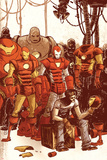 Iron Man & The Armor Wars No.1 Cover: Stark and Tony Posters by Skottie Young