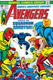 Avengers No.141 Cover: Beast Plakater av George Perez