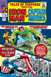 Tales Of Suspense No.62 Cover: Iron Man, Captain America and Mandarin Plakater af Don Heck