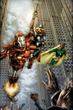 Marvels: Eye Of The Camera No.4 Cover: Iron Man, Thor and Vision Print by Jay Anacleto