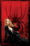 Daredevil No.63 Cover: Black Widow Print by Alex Maleev