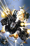 War Machine No.1 Cover: War Machine Affiche par Leonardo Manco