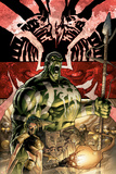 Incredible Hulk No.84 Cover: Hulk Poster von Andy Brase