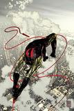 Daredevil No.66 Cover: Daredevil Fighting and Flying Prints by Alex Maleev