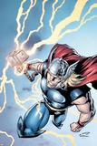 Marvel Adventures Super Heroes No.7 Cover: Thor Poster di Salvador Espin