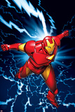 Marvel Two-In-One No.9 Marvel Adventures Iron Man Cover: Iron Man Pósters por Michael Golden