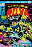Nova: Origin Of Richard Rider - The Man Called Nova No.1 Cover: Nova Pósters por John Buscema