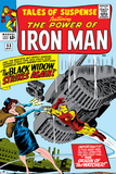 Tales Of Suspense No.53 Cover: Iron Man and Black Widow Flying Posters by Don Heck