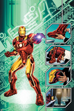 Iron Man: The End No.1 Cover: Iron Man Posters par Bob Layton