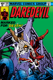 Daredevil No.159 Cover: Daredevil Poster by Frank Miller