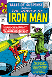 Tales Of Suspense No.54 Cover: Iron Man and Mandarin Print by Don Heck