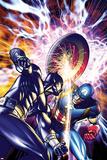 Ultimate Captain America Annual No.1 Cover: Captain America and Black Panther Affiche par Brandon Peterson