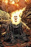 Ghost Rider No.18 Cover: Ghost Rider Plakater av Tony Moore