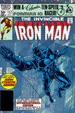The Invinvible Iron Man No.152 Cover: Iron Man Affiche par Bob Layton