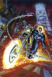 Ghost Rider Annual No.2 Cover: Ghost Rider Plakater av Mark Texeira
