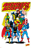 Giant-Size Avengers/Invaders No.1 Group: Thor Affiches par Sal Buscema