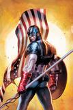 Ultimate Origins No.2 Cover: Captain America Affiches par Gabriele DellOtto
