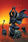 Black Panther No.3 Cover: Black Panther Posters av J. Scott Campbell