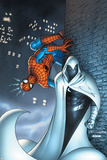 Marvel Team Up No.7 Cover: Moon Knight and Spider-Man Photo by Scott Kolins