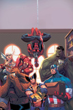 Marvel Reading Chronology 2009 Cover: Spider-Man Plakater av Jorge Molina