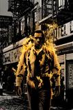 Luke Cage Noir No.3 Cover: Cage and Luke Bilder av Tim Bradstreet
