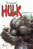Incredible Hulk No.67 Cover: Hulk Fighting Affiches par Mike Deodato