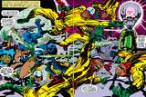 Black Panther No.2 Group: Black Panther, Princess Zanda and Hatch-22 Poster von Jack Kirby