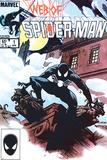 Web Of Spider-Man No.1 Cover: Spider-Man Crouching Foto von Charles Vess