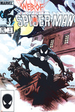 Web Of Spider-Man No.1 Cover: Spider-Man Crouching Poster di Charles Vess