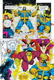 Infinity Gauntlet No.6 Group: Thanos, Hulk, Thor and Dr. Strange Posters par George Perez