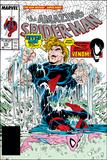 Amazing Spider-Man No.315 Cover: Spider-Man and Hydro-Man Julisteet tekijänä Todd McFarlane