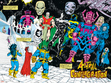 Infinity Gauntlet No.4 Group: Thanos Stampe di George Perez
