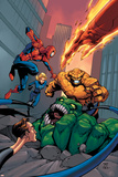 Spider-Man Team-Up Special No.1 Cover: Spider-Man Láminas por Shane Davis