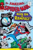 Amazing Spider-Man No.32 Cover: Spider-Man Crouching Posters tekijänä Steve Ditko