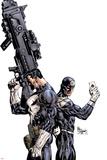 Punisher Vs. Bullseye No.1 Cover: Punisher and Bullseye Poster par Mike Deodato