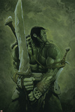 Skaar: Son of Hulk No.11 Cover: Skaar Pósters por Travis Charest