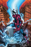 Marvel Adventures Spider-Man No.40 Cover: Spider-Man Affischer av Patrick Scherberger