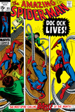 Amazing Spider-Man No.89 Cover: Spider-Man and Doctor Octopus Print by Gil Kane