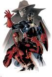 Daredevil & Captain America: Dead On Arrival Cover: Captain America and Daredevil Foto von Claudio Villa