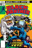 Black Panther No.5 Cover: Black Panther Foto von Jack Kirby