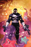 Punisher War Journal Annual No.1 Cover: Punisher Stampe di Dave Wilkins