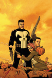 Punisher: War Zone No.6 Cover: Punisher Stampe di Steve Dillon